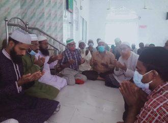 বেগম খালেদা জিয়ার রোগ মুক্তি কামনায়  বগুড়ায় নিশিন্দারা ইউনিয়ন বিএনপির যুগ্ম  আহবায়ক মানিকের নেতৃত্বে দোয়া মাহফিল