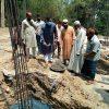 বগুড়া শিবগঞ্জ মহাস্থানে চক মহাস্থান জামে মসজিদের পুনঃনির্মান কাজের উদ্বোধন