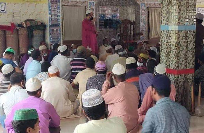 বগুড়ার কাহালুতে এমপি আলহাজ্ব মোশারফ হোসেন এর উদ্যোগে বেগম খালেদা জিয়ার সুস্থতা কামনা করে দোয়া