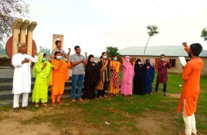 সোনাতলার কর্পূরে কলকন্ঠ খেলাঘর আসরের আত্মপ্রকাশ এবং আহ্বায়ক কমিটি গঠন