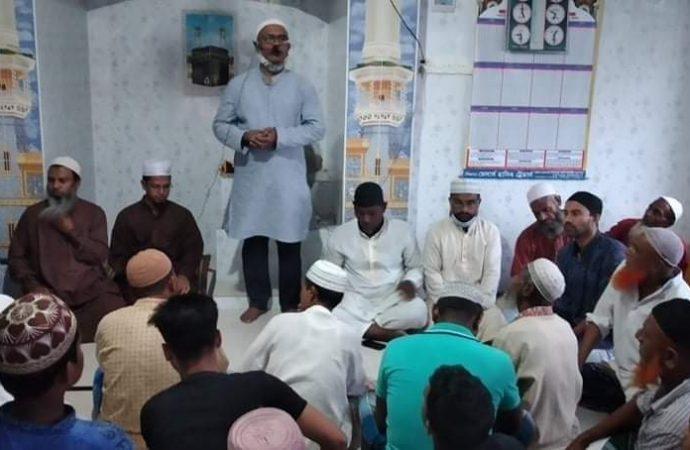 বগুড়ার সদরের গোকুল ৫নং ওয়ার্ড বিএনপির আয়োজনে ইফতার মাহফিল অনুষ্ঠিত