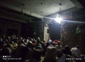 সেকেন্দ্রাবাদ পূর্বপাড়া জামে মসজিদে নফল ইবাদতের মাধ্যমে পালিত হয় শবে কদর