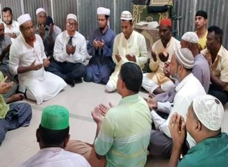 বগুড়ায় বিএনপি'র নেতৃবৃন্দের রোগ মুক্তি কামনা করে দোয়া মাহফিল