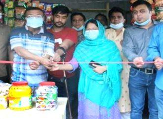 বগুড়ার শিবগঞ্জে নিসচা'র সহযোগিতায় পাকা মুদির দোকান পেল প্রতিবন্ধি শাকিল