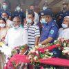 বগুড়ার জেলা পুলিশকে গাড়ি উপহার দিলেন শিবগঞ্জ পৌরসভা