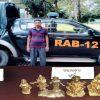 বগুড়ার্যাব-১২ অভিযানে নকল সোনার মূর্তিসহ ১ যুবক গ্রেফতার