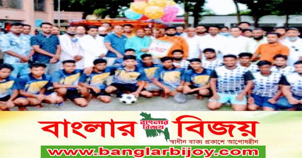 শাজাহানপুর উপজেলায় বঙ্গবন্ধু ফুটবল টুর্ণামেণ্টের উদ্বোধন